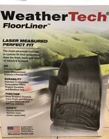 WeatherTech Custom Car/Truck Floor Mats FloorLiner - 445431 - 1st Row - Black