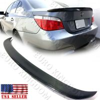 For 04-10 BMW 5-Series E60 M5 AC Style Carbon Fiber Trunk Deck Spoiler Wing CF