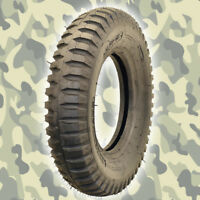 4 NEW - Military Jeep Tire GPW Willys - 600x16 6-ply M416 M101 M762 M100 Army