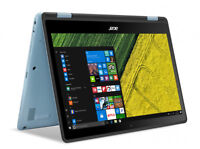 Acer Spin 1 2-in-1 Notebook SP113-31-C17E 2GB 32GB eMMC Windows 10 Home
