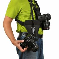 Opteka MCH-25 Multi Camera Carrier Harness Holster System for Digital SLR Camera