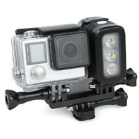 30m Underwater Waterproof Diving LED Fill Light For GoPro Hero 6 5 Xiaoyi Camera