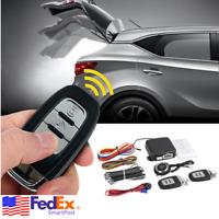 Universal Passive Keyless Entry Remote Engine Start Push Button Car Alarm System