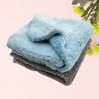 2PC Car Cleaning Cloth Ultrasonic Coral Velvet Kitchen No Static Absorbent Tools