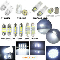 Error Free LED SMD Bulbs Kit Spare Parts for Car Interior Dome Map Door Light