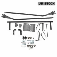 For 1953-1956 Ford F-100 Truck Hood Tilt Flip Kit Stainless Combo Conversion Kit