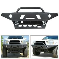 Front Bumper Winch +D-Rings Offroad Steel For 05-15 Toyota Tacoma ( LOCAL PICK )