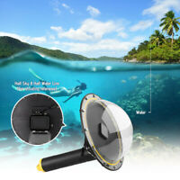 Diving Dome Port Underwater Housing Lens Cover For GoPro Hero 8 Sports Camera