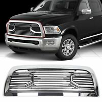For 10-18 Dodge Ram 2500+ 3500 Big Horn Chrome Packaged Grille Replacement Shell