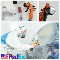 HVLP Air Spray Gun with Cups Car Paint Spray Gun Professional TES Painting Gun