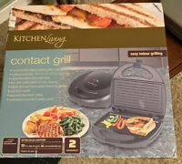 New-Contact Grill by Kitchen Living Easy Indoor Grilling