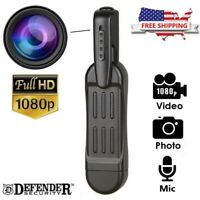 1080P HD Pocket Pen Camera Hidden Spy Mini Portable Body Cam Video Recorder DVR