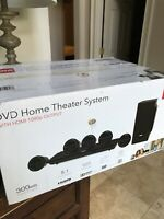 RCA DVD Home Theater System 300 Watt 1080 Output