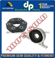 CARDAN Driveshaft Flex Disc Joint GUIBO + CENTER Support Bearing for BMW E83 X3