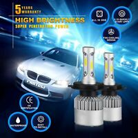 Motorcycle Bike Car 1080W 162000LM Cree LED Headlight Bulb H4 High/Low HB2 9003