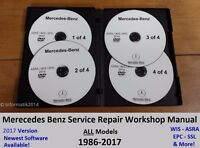 MERCEDES BENZ ALL MODELS SERVICE REPAIR WORKSHOP MANUAL FACTORY DVD/CD GUIDE