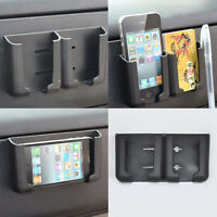 Car Cell Phone Holder Stand Stent Pouch Bracket Mount for iPhone GPS Cradle BK