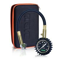 NEW Car Tire Pressure Gauge & Case, (60 PSI) Accurate by Drive Auto Products™