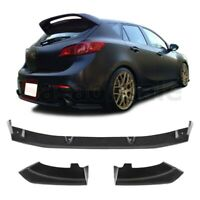 Made for 2010-2013 Mazda 3 Hatchback 5dr Dual Exhaust MZ Rear PU