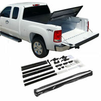 Fit 2015-2018 Ford F150 6.5Ft/78in Bed Tri-Fold Soft Tonneau Cover Assemble