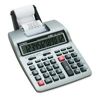 Casio HR-100TM Two-Color Portable Printing Calculator, 12-Digit LCD