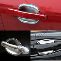 Fit 2013 2014 Chevrolet Malibu Chrome Door Handle Bowls