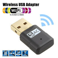 500Mbps USB Wireless WiFi Lan Network Receiver Card Adapter For Desktop PC -WB1