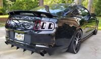 2013-2014 Ford Mustang Diffuser Fins (4 Pc)
