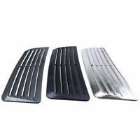 Universal Car 3 Color Decorative Air Flow Intake Hood Scoop Vent Bonnet Cover
