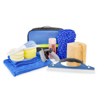 HOTPDR Car Cleaning Kit 14 PCS with Microfiber Towels Auto Wheel Brush Microfibe