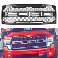 Fit 2009-2014 Ford F-150 F150 Raptor Style Conversion Grill Grille W F