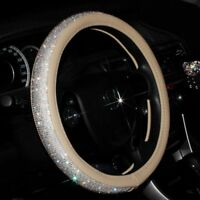 Car Accessories For Women Decorations Luxury Crystal Steering Wheel Covers Gift