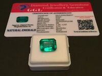 5.22 cts. NO RESERVE Transparent Colombian Emerald Estate Collection Lot MK 21