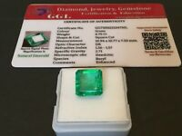 6.75 cts. NO RESERVE Transparent Colombian Emerald Estate Collection Lot RL 220