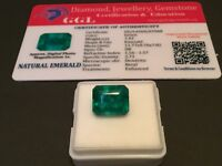 7.42 cts. NO RESERVE Transparent Colombian Emerald Estate Collection Lot MK 24