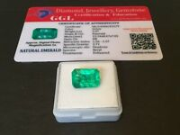 5.97 cts. NO RESERVE Transparent Colombian Emerald Estate Collection Lot RL 236