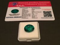 7.17 cts. NO RESERVE Transparent Colombian Emerald Estate Collection Lot MK 480