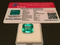 7.17 cts. NO RESERVE Transparent Colombian Emerald Estate Collection Lot 362
