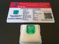 6.52 cts. NO RESERVE Transparent Colombian Emerald Estate Collection Lot MK 109