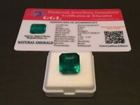 8.97 cts. NO RESERVE Transparent Colombian Emerald Estate Collection Lot MK 347