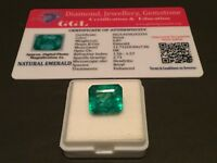 6.87 cts. NO RESERVE Transparent Colombian Emerald Estate Collection Lot MK 348