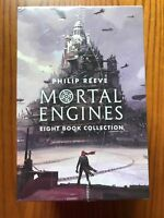 Mortal Engines Collection Philip Reeve 8 Books Box Set Pack NEW and SEALED!