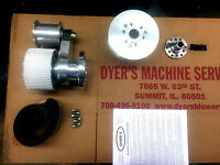 671 BBC Big Block Chevy Dyer's Blower Drive Kit Polished New 6-71 871 (No Cover)