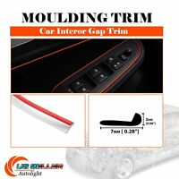 12ft Moulding Strip Panel Red Gap Trim Decorate Console Air Conditioner Garnish