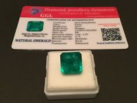 10.17 cts. NO RESERVE Transparent Colombian Emerald Estate Collection Lot MK 400
