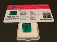 10.37 cts. NO RESERVE Transparent Colombian Emerald Estate Collection Lot MK 403