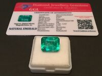 9.17 cts. NO RESERVE Transparent Colombian Emerald Estate Collection Lot 302