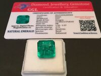 9.57 cts. NO RESERVE Transparent Colombian Emerald Estate Collection Lot 309