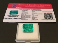 9.72 cts. NO RESERVE Transparent Colombian Emerald Estate Collection Lot 303