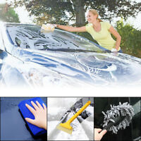 8 PCS Set Car Cleaning Kit Tools Wash Vacuum Brush Cleaner+Shovel+Sponge+Glove